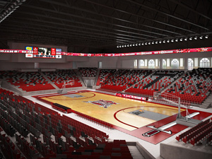 Troy University Multi-Sports Complex Rendering